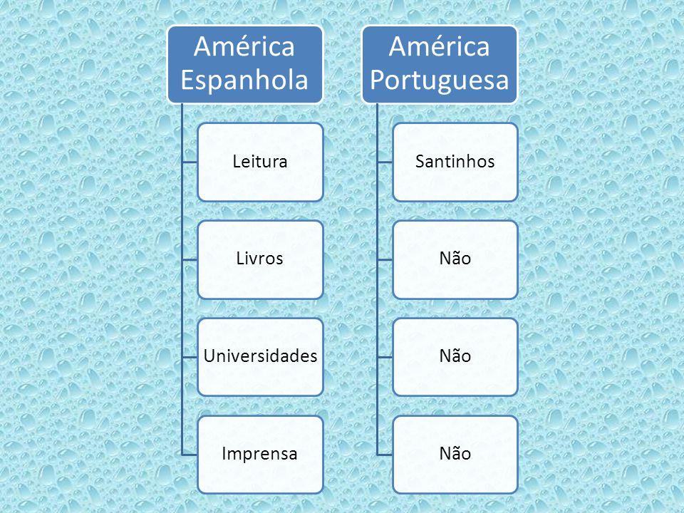 América Espanhola América Portuguesa Leitura Livros Universidades