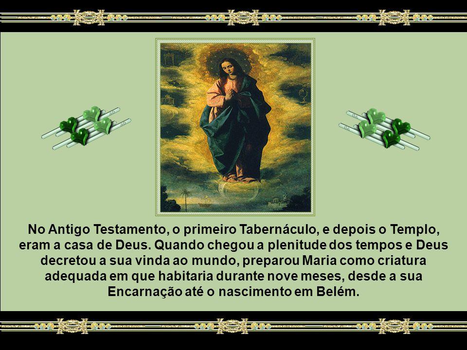 No Antigo Testamento, o primeiro Tabernáculo, e depois o Templo, eram a casa de Deus.
