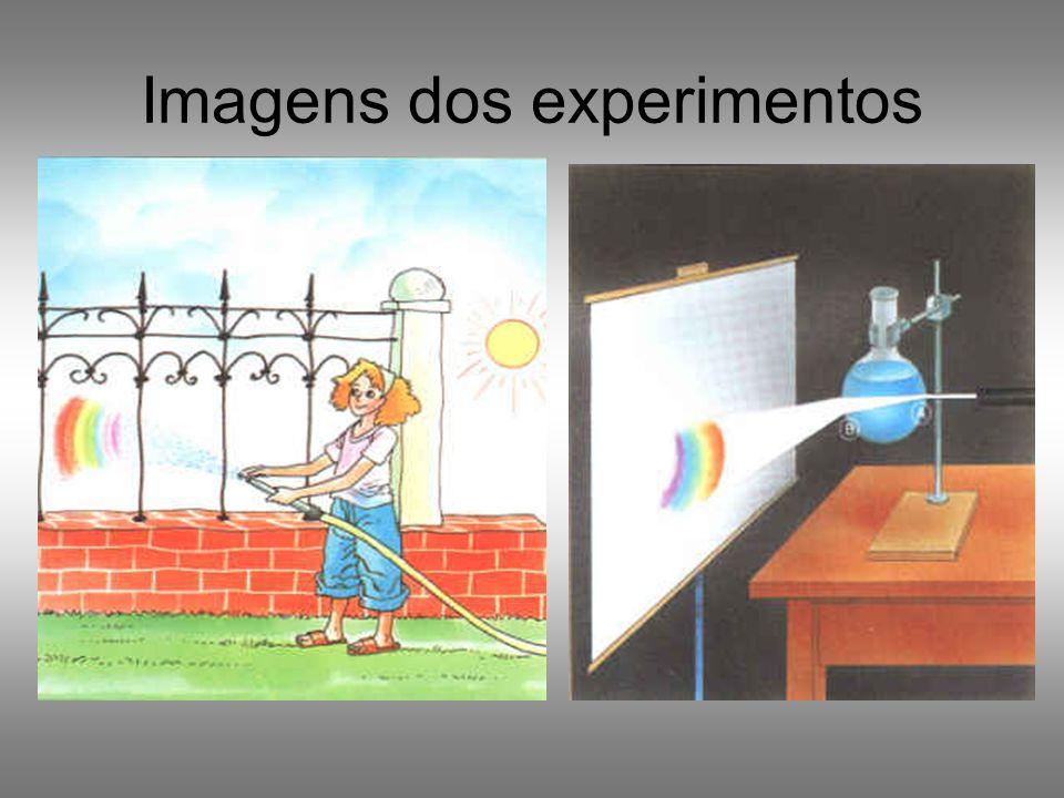Imagens dos experimentos
