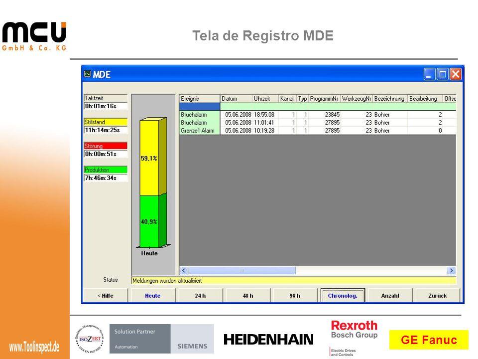 Tela de Registro MDE