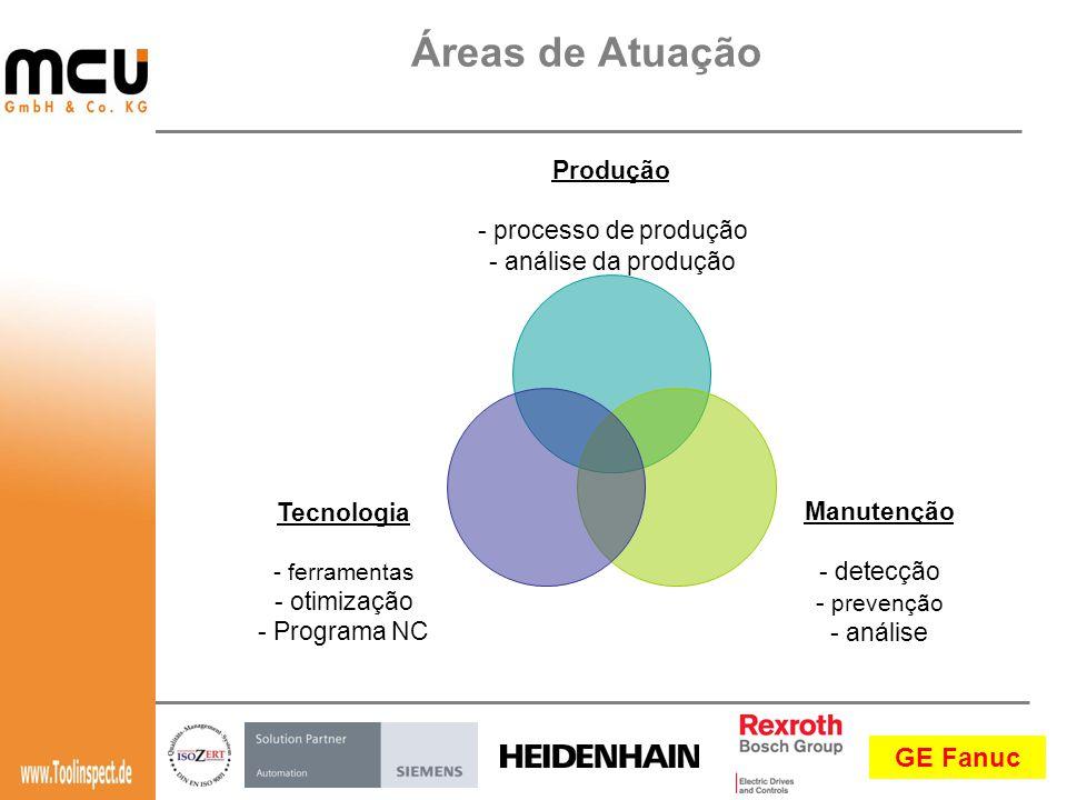 Áreas de Atuação Produção processo de produção análise da produção