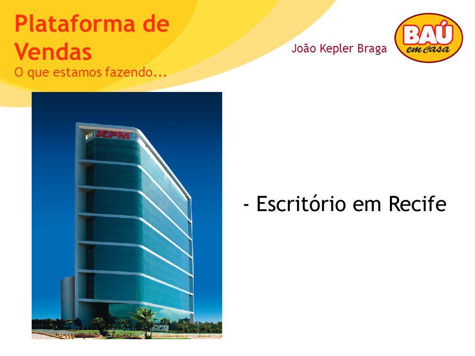 O que estamos fazendo... - Escritório em Recife