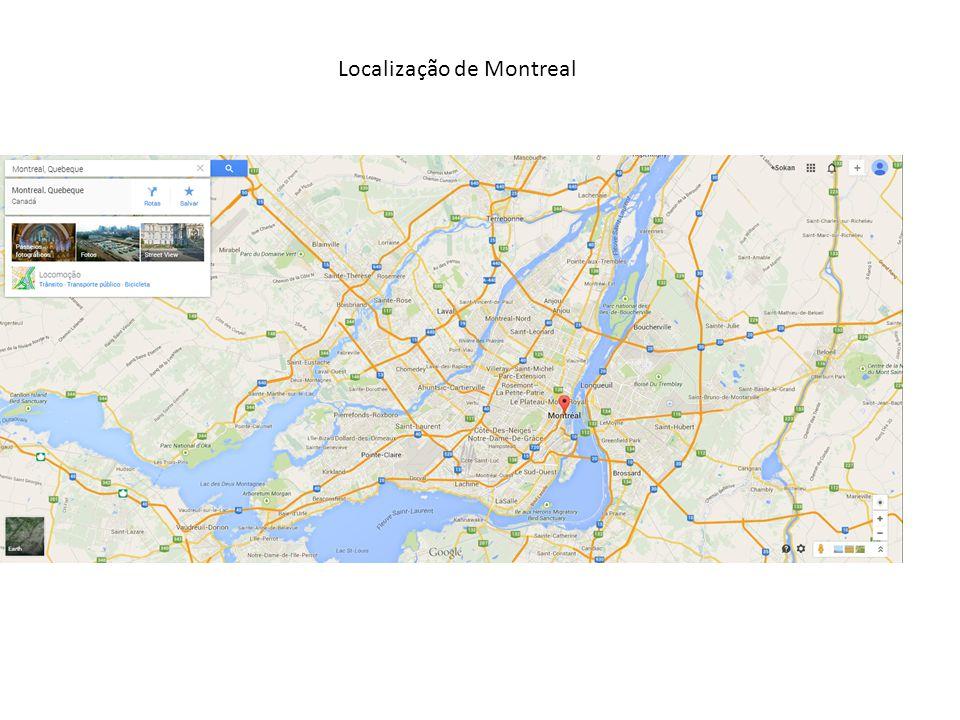 Localização de Montreal