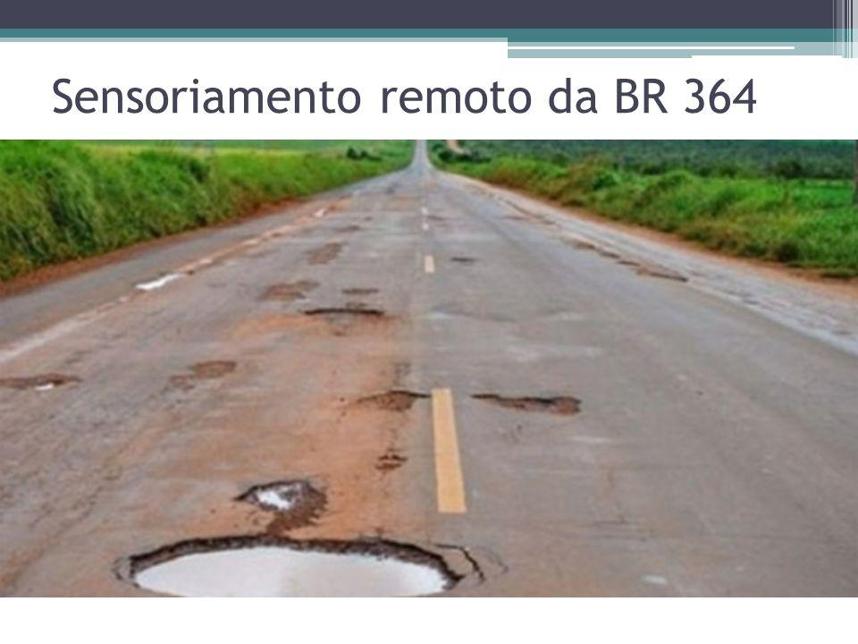 Sensoriamento remoto da BR 364