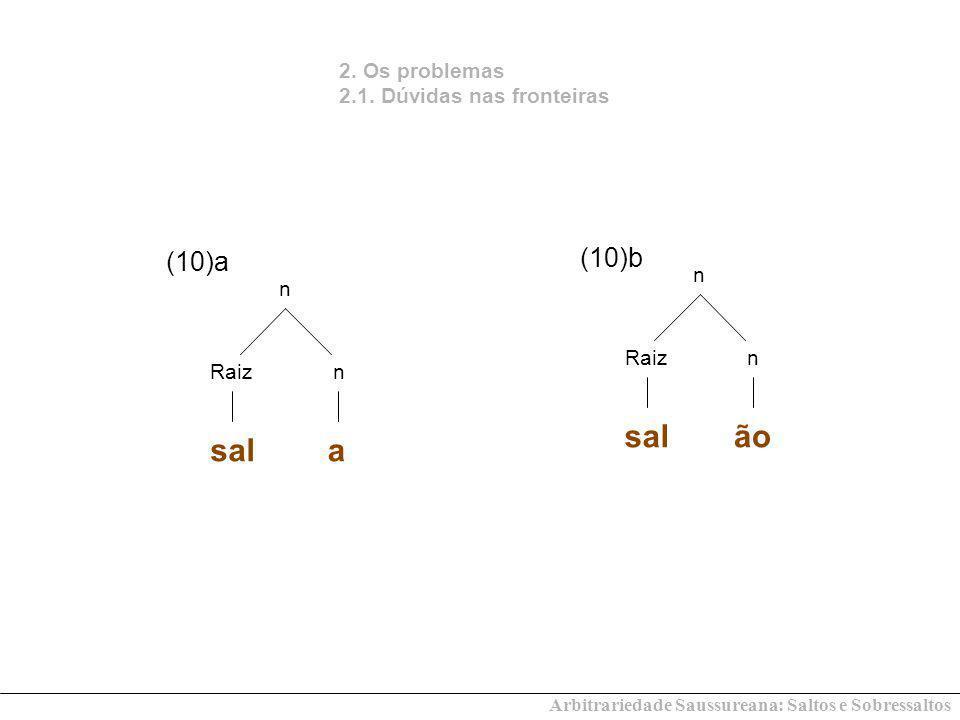 sal ão sal a (10)b (10)a 2. Os problemas 2.1. Dúvidas nas fronteiras n