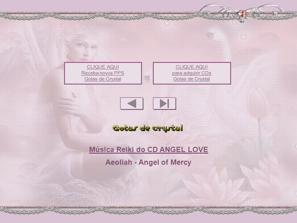 Música Reiki do CD ANGEL LOVE Aeoliah - Angel of Mercy