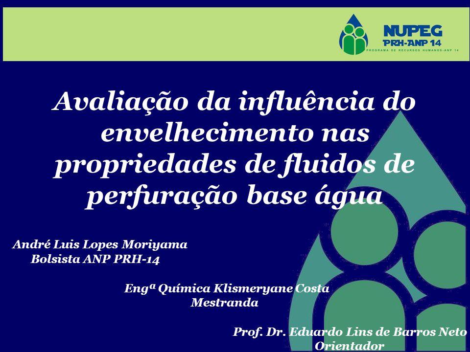 Avaliação da influência do envelhecimento nas propriedades de fluidos de perfuração base água