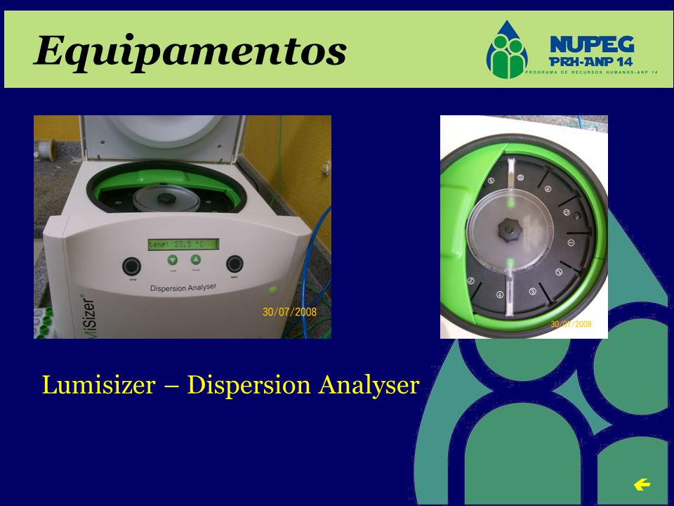 Equipamentos Lumisizer – Dispersion Analyser 