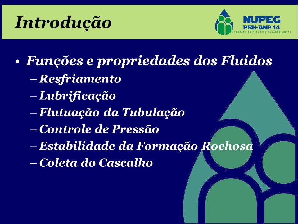 Introdução Funções e propriedades dos Fluidos Resfriamento