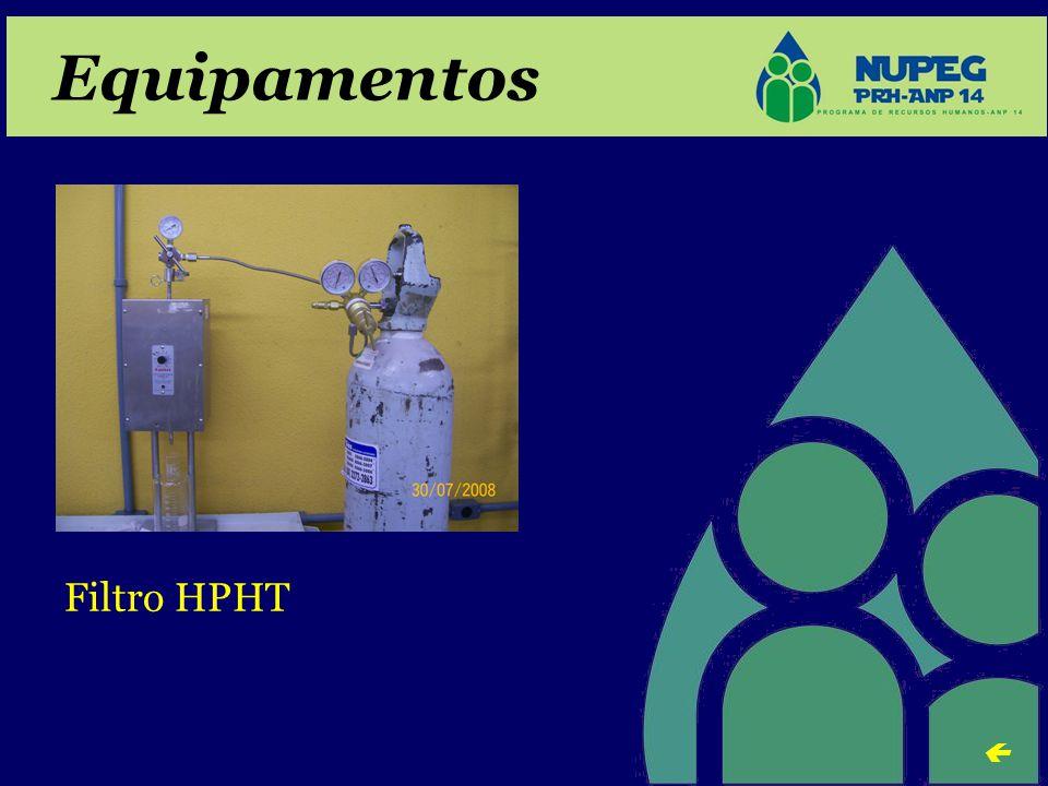 Equipamentos Filtro HPHT 