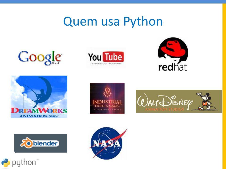 Quem usa Python