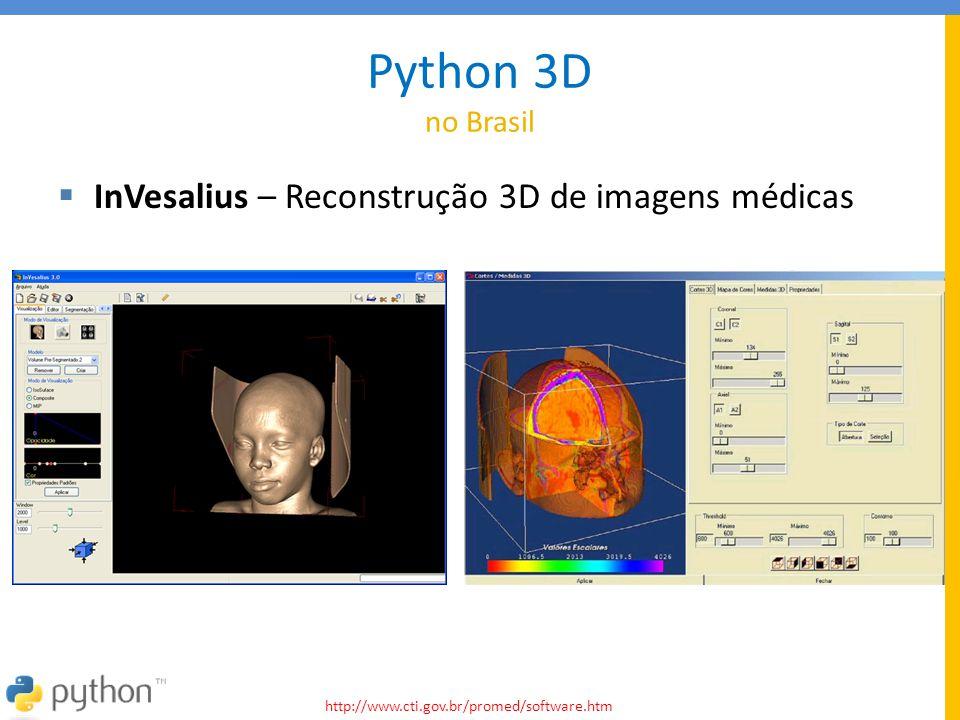 Python 3D no Brasil InVesalius – Reconstrução 3D de imagens médicas