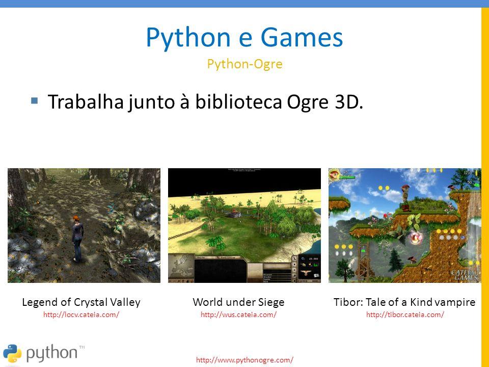Python e Games Python-Ogre