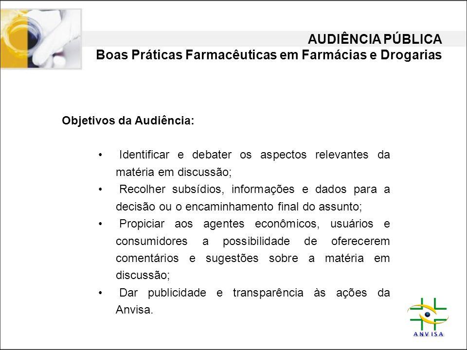 Boas Práticas Farmacêuticas em Farmácias e Drogarias