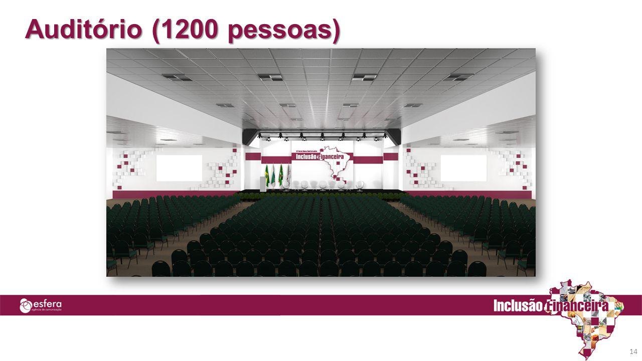 Auditório (1200 pessoas)