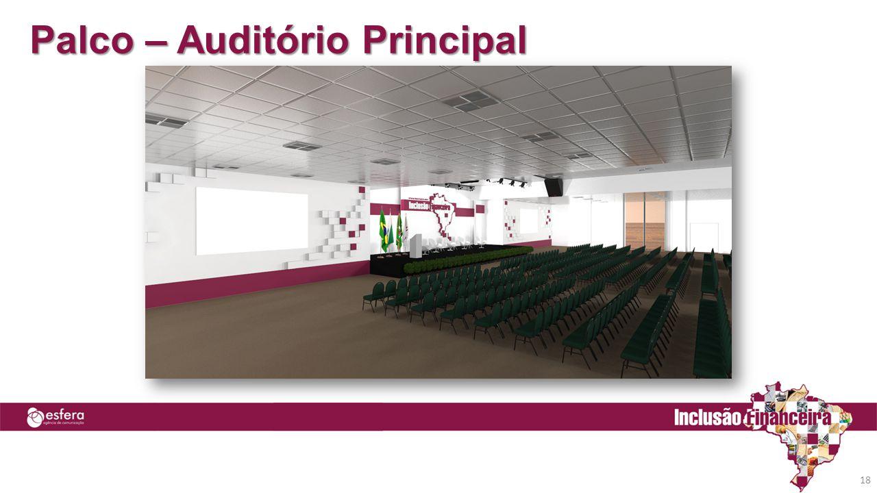 Palco – Auditório Principal