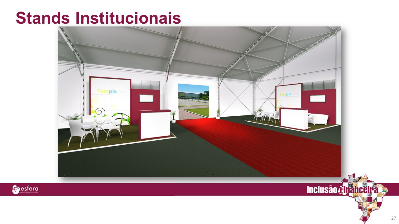 Stands Institucionais