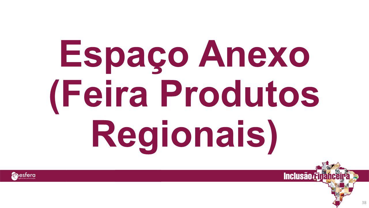Espaço Anexo (Feira Produtos Regionais)