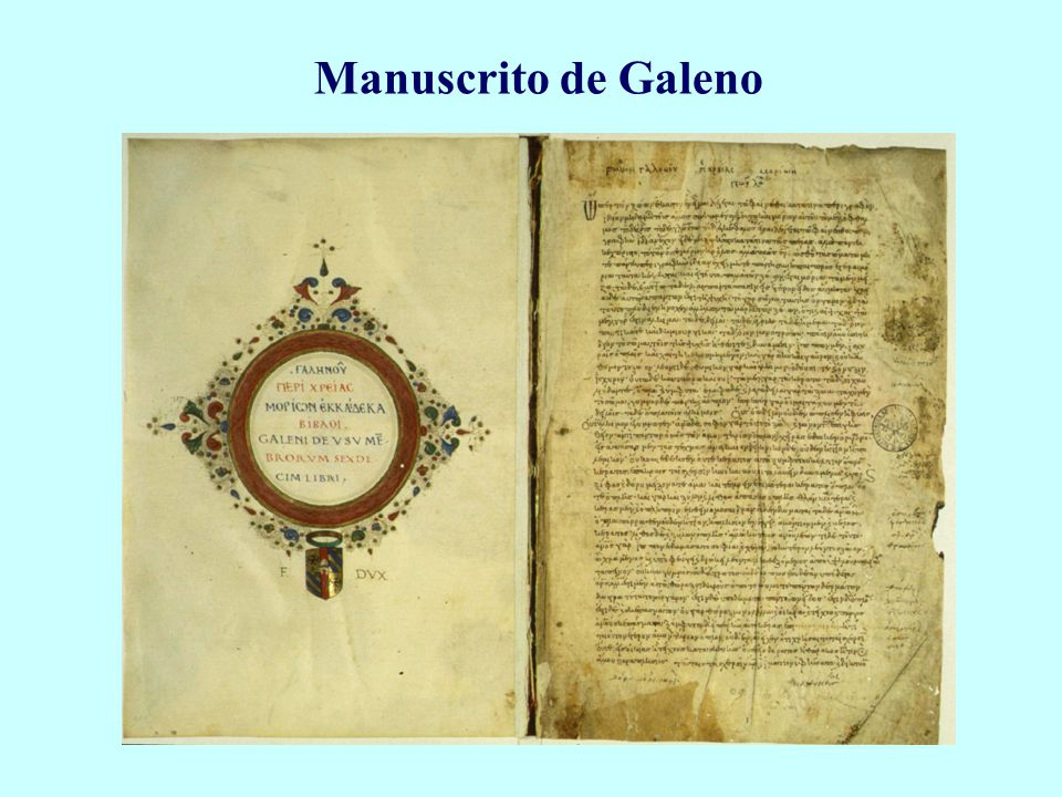 Manuscrito de Galeno