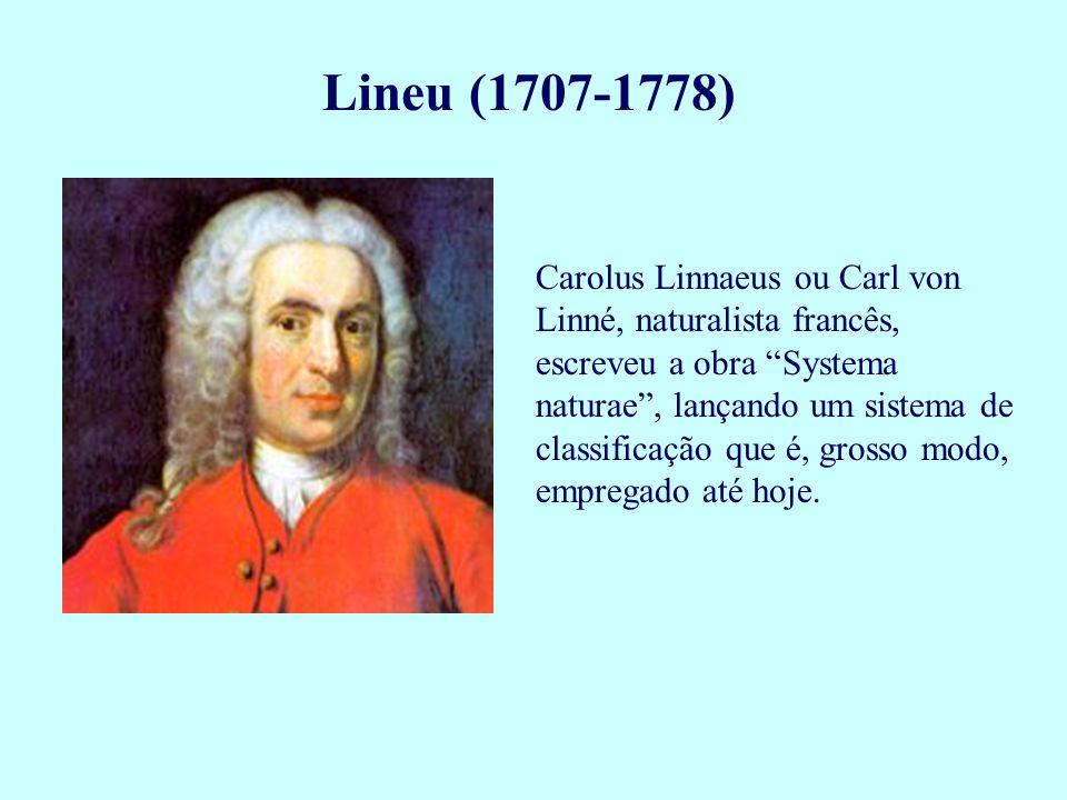 Lineu (1707-1778)