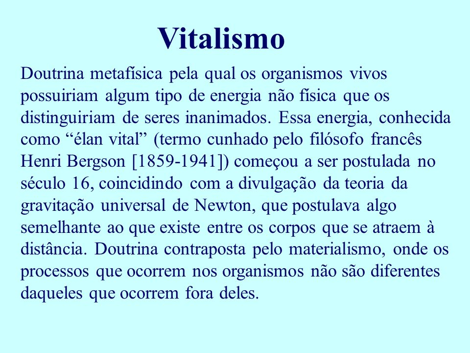 Vitalismo