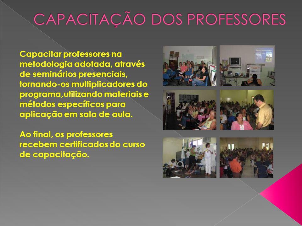 Capacitação dos Professores