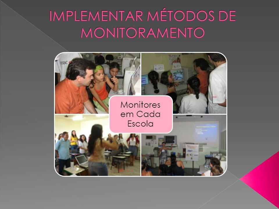 Implementar métodos de Monitoramento