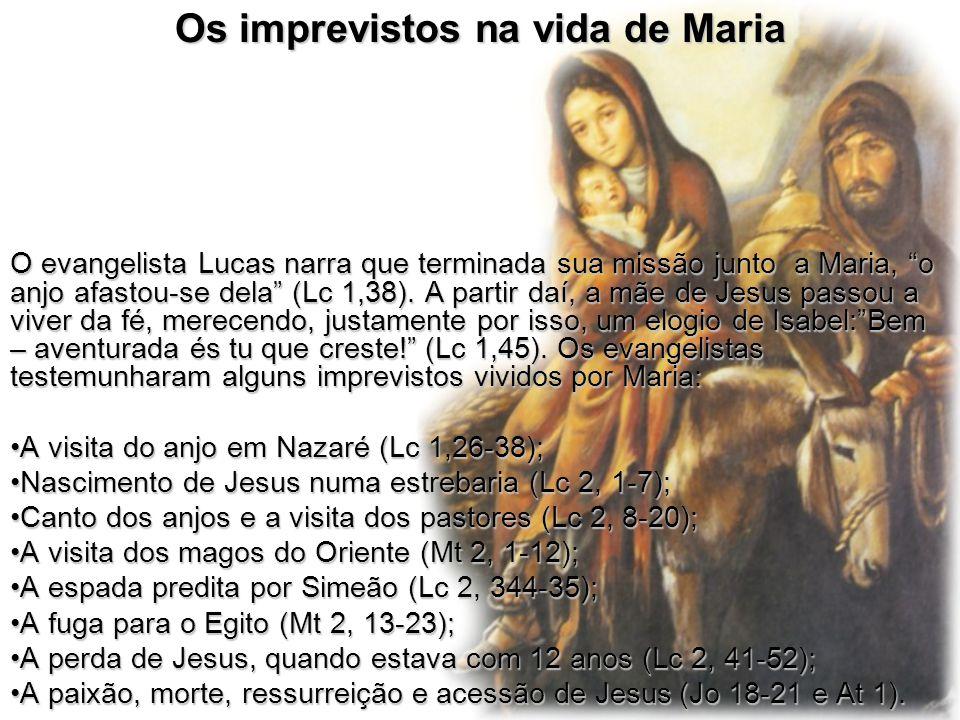 Os imprevistos na vida de Maria