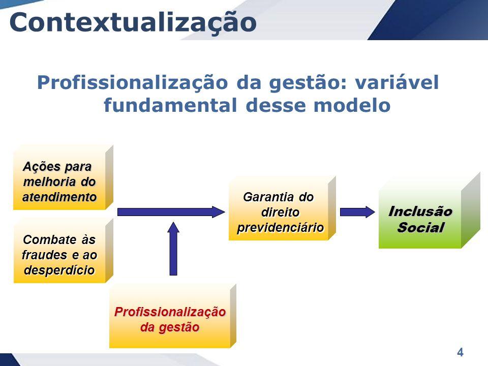 Profissionalização da gestão: variável fundamental desse modelo