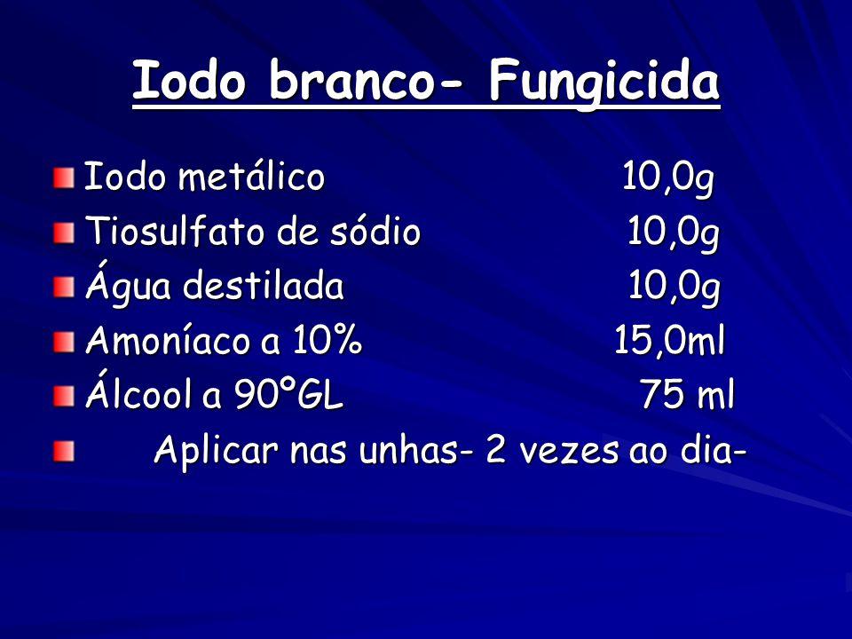 Iodo branco- Fungicida