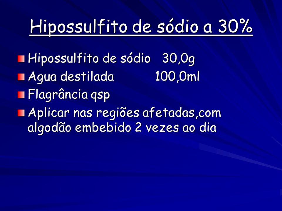 Hipossulfito de sódio a 30%