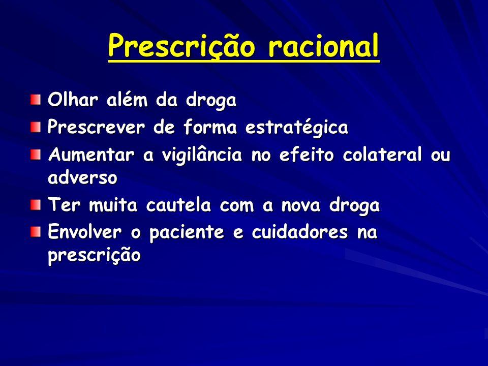 Prescrição racional Olhar além da droga