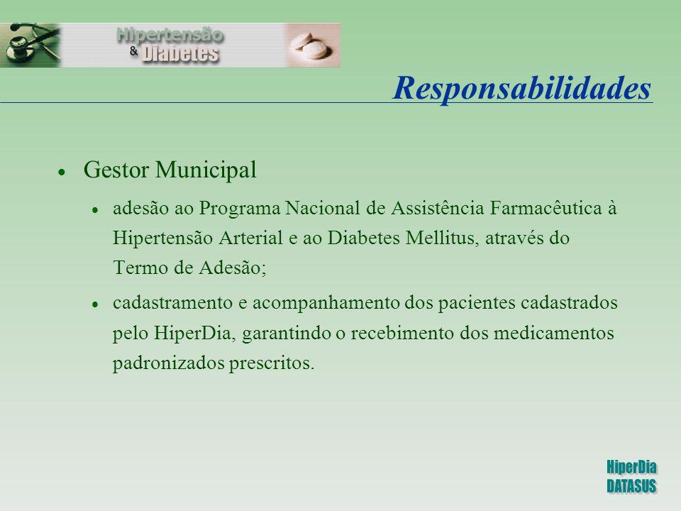 Responsabilidades Gestor Municipal