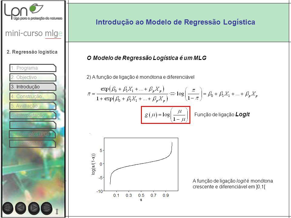 Introdução ao Modelo de Regressão Logística