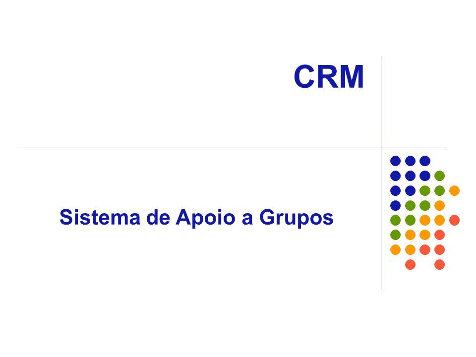 CRM Sistema de Apoio a Grupos