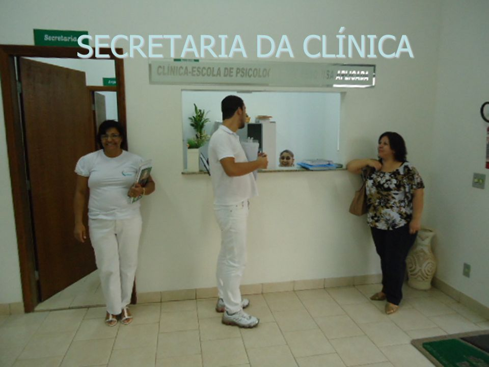 SECRETARIA DA CLÍNICA