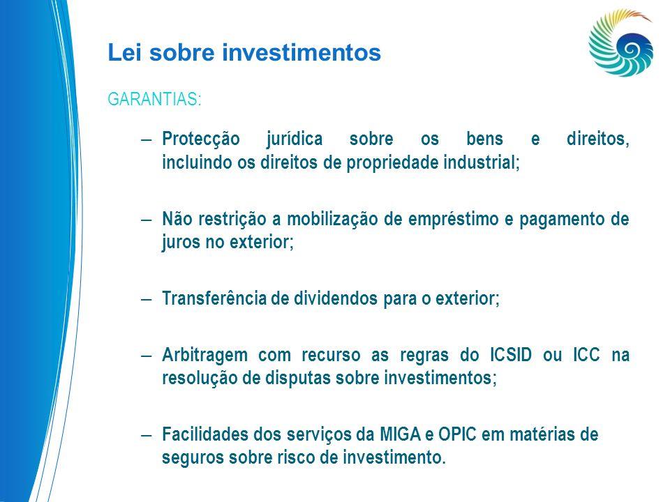 Lei sobre investimentos