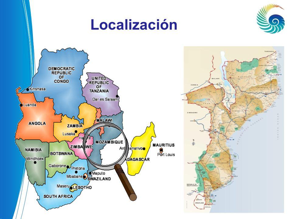 LOCALIZAÇÃO Localización