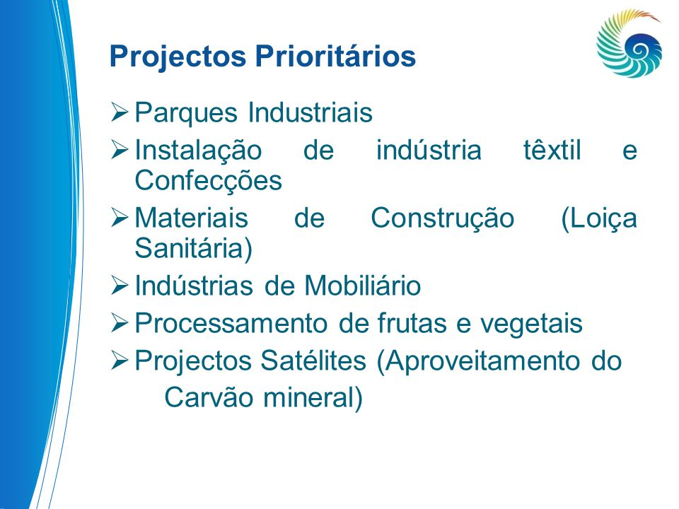 Projectos Prioritários
