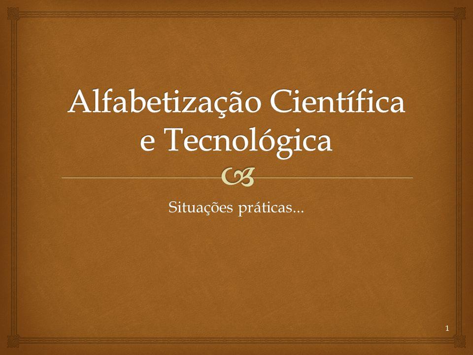 Alfabetização Científica e Tecnológica