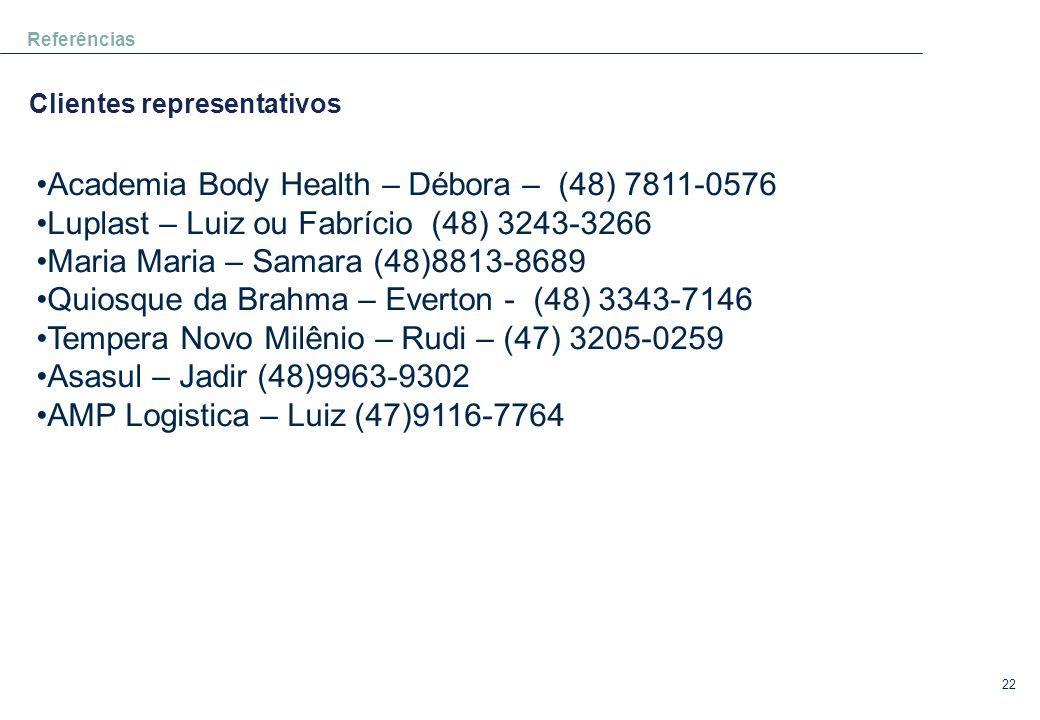 Academia Body Health – Débora – (48) 7811-0576