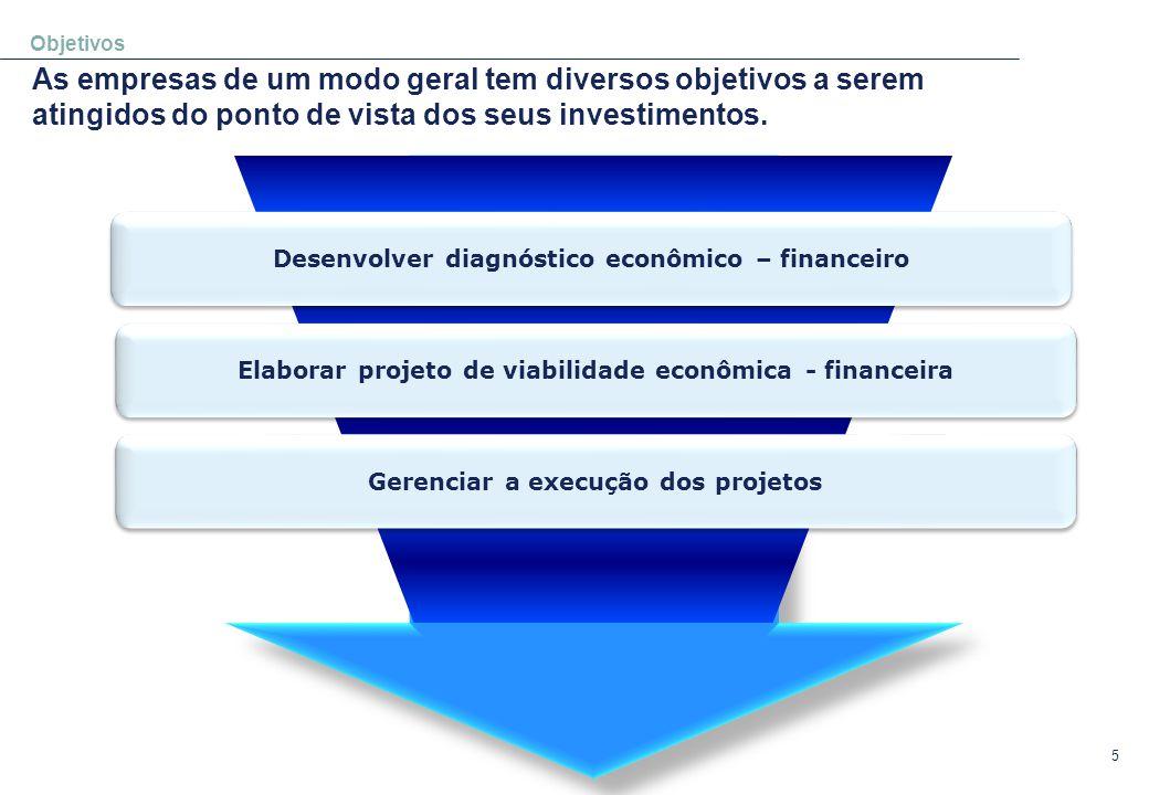 Objetivos As empresas de um modo geral tem diversos objetivos a serem atingidos do ponto de vista dos seus investimentos.