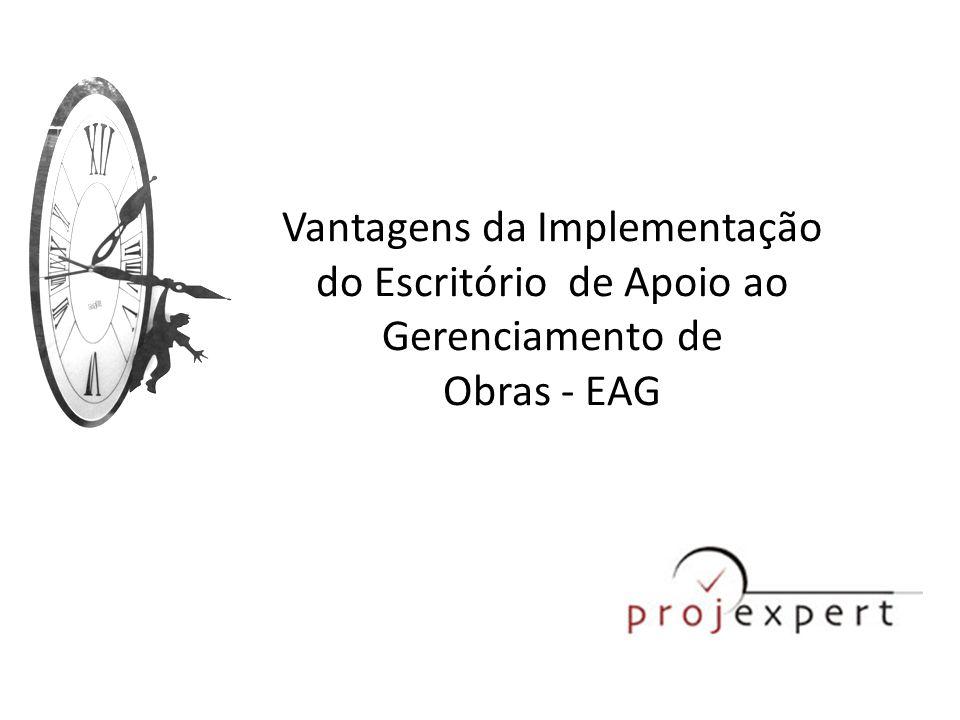 Vantagens da Implementação do Escritório de Apoio ao Gerenciamento de Obras - EAG