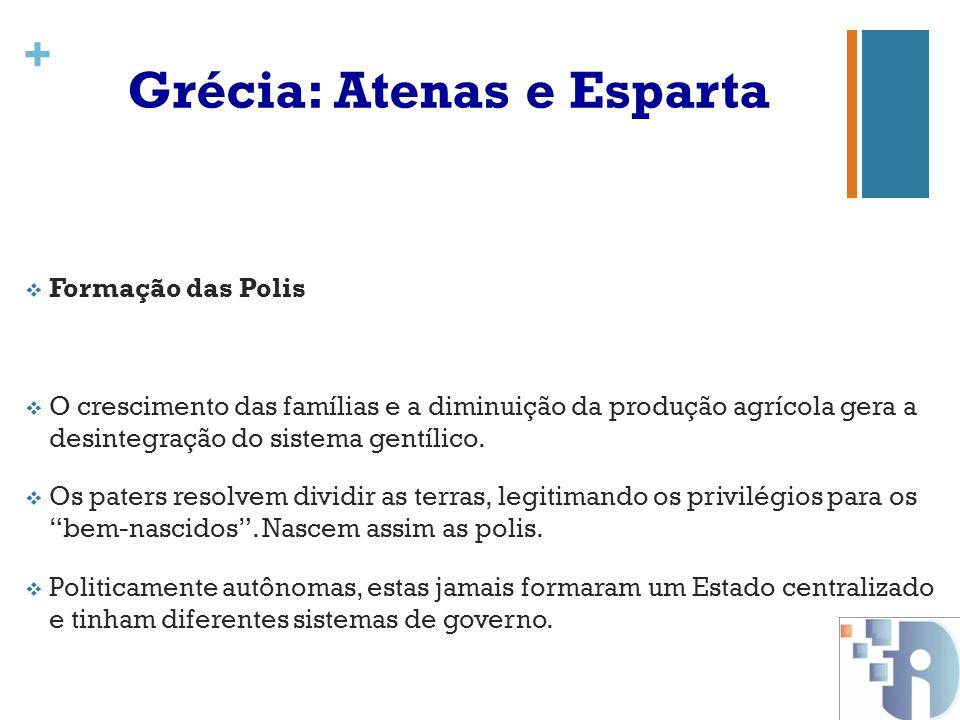 Grécia: Atenas e Esparta
