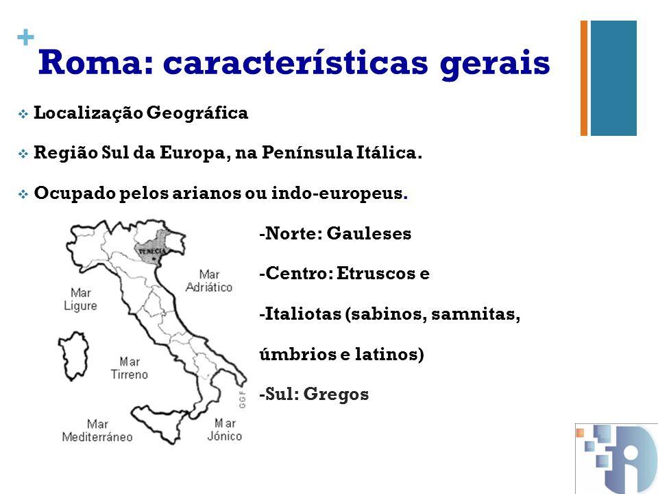 Roma: características gerais