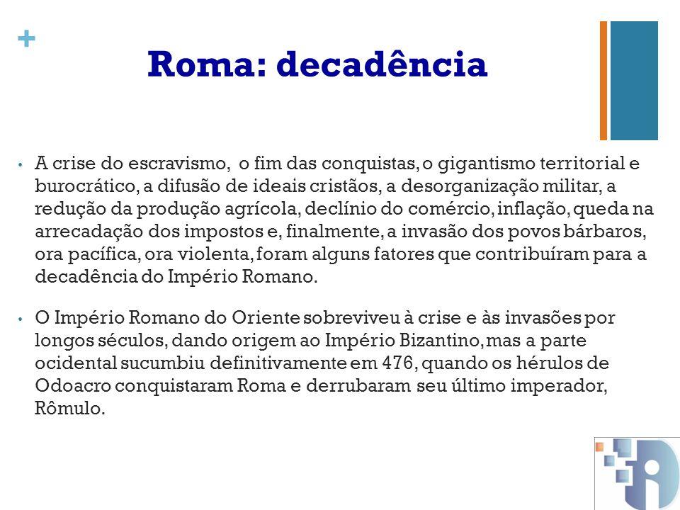 Roma: decadência