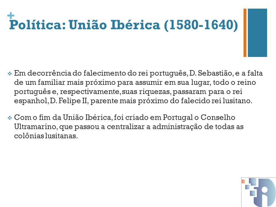 Política: União Ibérica (1580-1640)