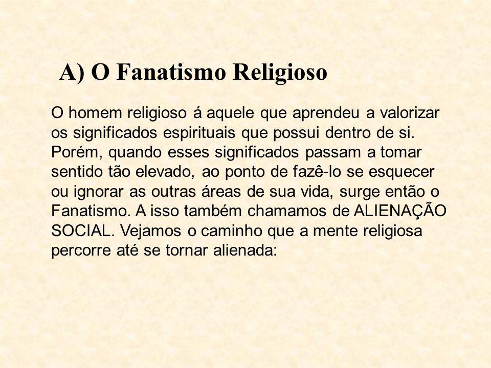 A) O Fanatismo Religioso