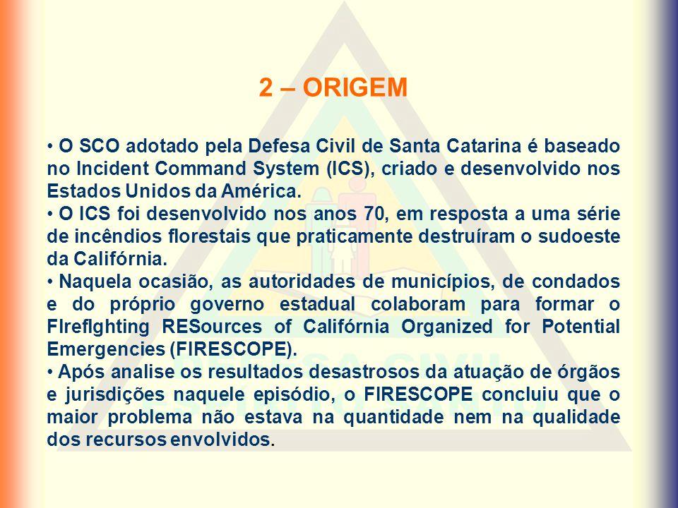 2 – ORIGEM