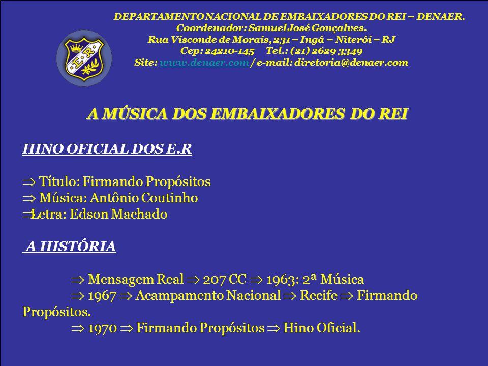  Título: Firmando Propósitos  Música: Antônio Coutinho